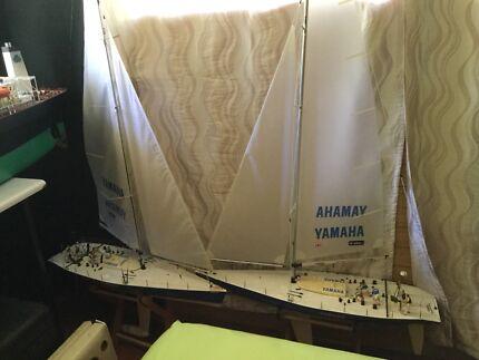VERY RARE. Yamaha round the world  rc Yachts