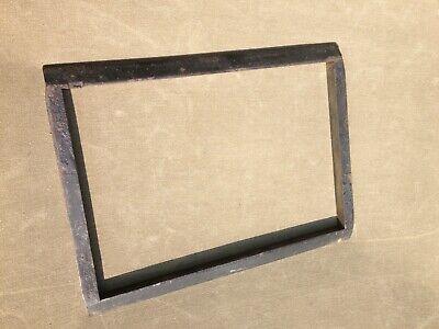 Letterpress Chase Steel Or Cast Iron 8.5 X 12.5 Vintage