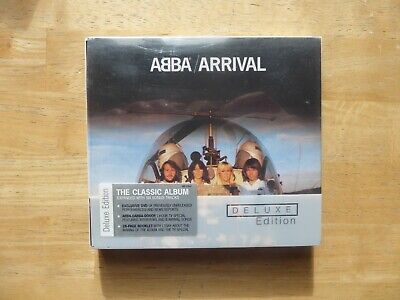 ABBA ‎– Arrival  - Deluxe Edition CD / DVD ( Dancing Queen)