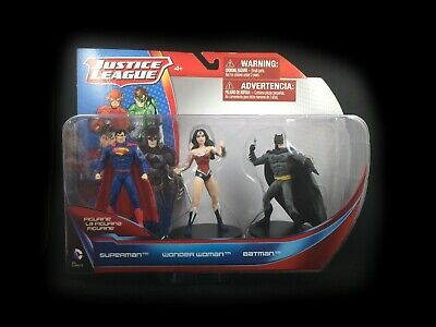 Justice League 3 pack - Superman, Wonder Woman, and Batman - Schleich