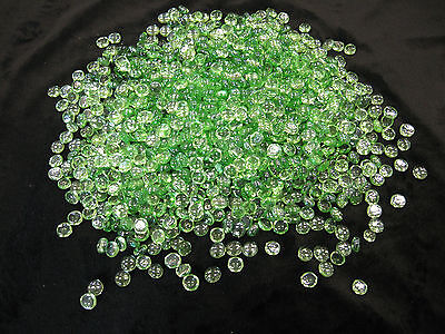 Light Green Pebble Bead Fire glass for your fireplace or fir