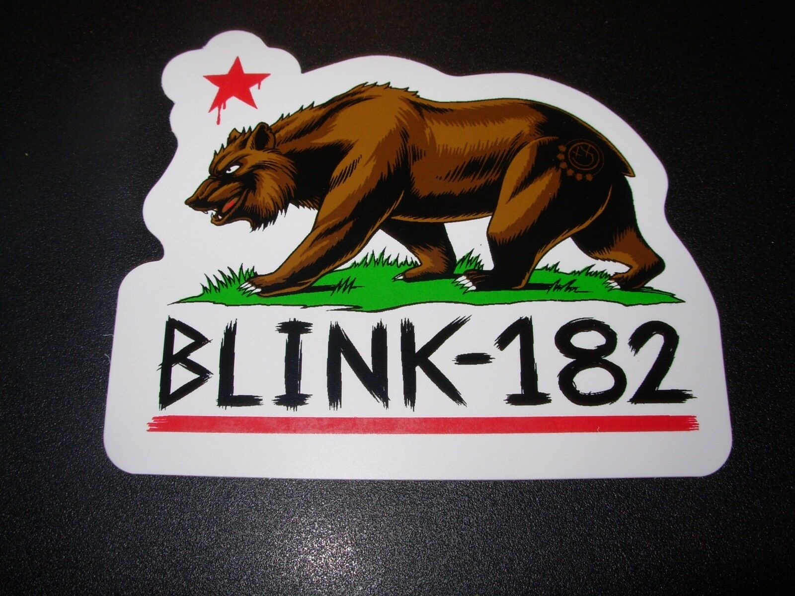 BLINK 182 Enema of the State Blue Pill sticker decal 5in wide