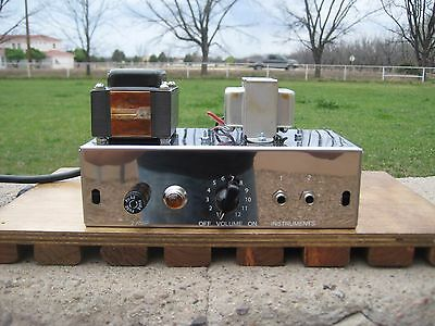 Tweed Champ 5F1  Complete Working Chassis Carls Custom Amps   The Best