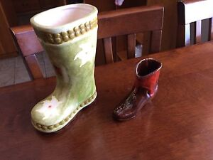 Decorative Ceramic boots