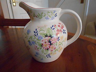 Vintage large floral jug made for Boots company plc  Nottingham
