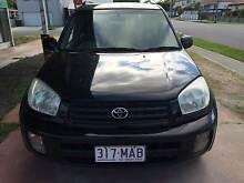 2002 TOYOTA RAV4 CRUISER (4x4) ACA21R 4D WAGON BLACK STOCK #15116 Lota Brisbane South East Preview