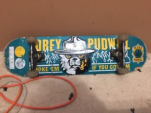 Tory Pudwill skate board