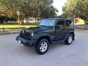 2012 Jeep Wrangler Sport (4x4) 4 Sp Automatic 2d Softtop