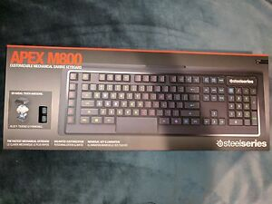 BRAND NEW STEELSERIES APEX M800 KEYBOARD + SENSEI WIRELESS MOUSE
