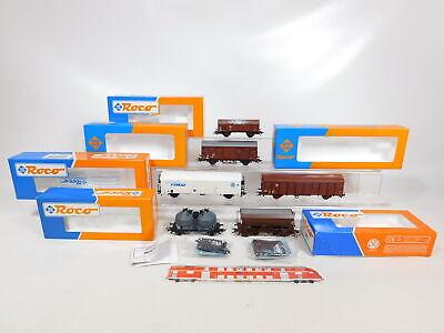 CD104-1# 5x Roco H0/AC Güterwagen NEM: 46442/46268 SNCF+ÖBB+DB, 2. Wahl+OVP online kaufen