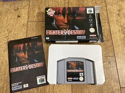 Fighters Destiny - N64 Nintendo 64 - Boxed PAL