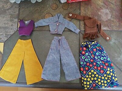 Vintage Barbie Petra Puppe Outfits 70er - 70er Jahre Outfits