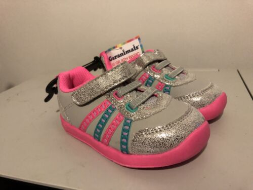 Garanimals Infant Girls' Athletic Shoes-New with Tag - Gray/