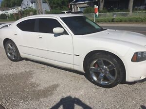 2008 Dodge Charger rt hemi. $4500 as is. Will trade for jeep