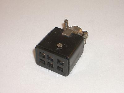 Cinch Jones Beau Molex S-306-cct 38331-8006 Power Connector Socket 6 Pin
