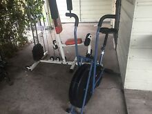 Used Gym Set and Excerise Bike Bolwarra Heights Maitland Area Preview