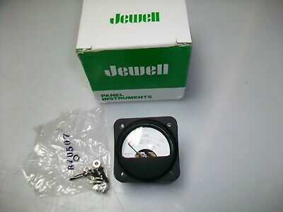 Jewell 0-100 Ua. Dc. Panel Meter 1 34 X 1 34.