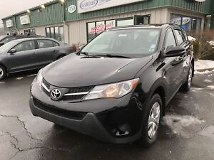 2015 Toyota RAV4 LE CLEAN CARFAX/BLUETOOTH/KEYLESS ENTRY/AWD/...