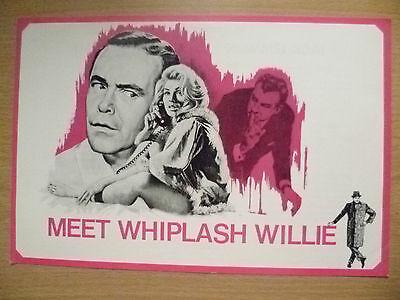 Film Programme- Jack Lemmon, Walter Matthau in B Wilder's MEET WHIPLASH WILLIE