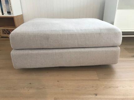 King Living Jasper Ottoman/Armless Sofa
