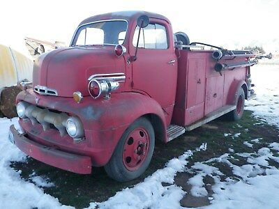1951 Ford F Series   951 Ford Coe Fire Truck