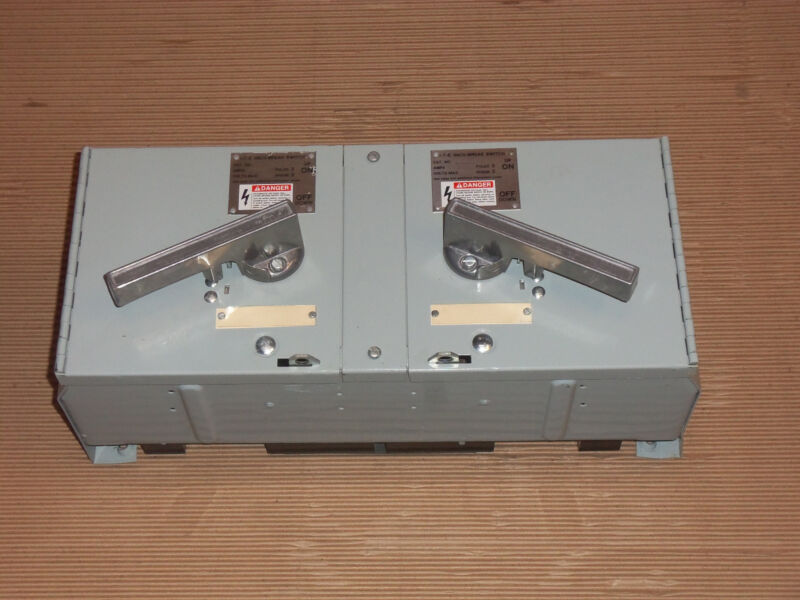 Ite Siemens V7e V7e3611 30 Amp 600v Fusible Panel Panelboard Switch Metal