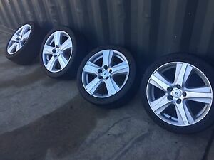 Ford Falcon 18 inch wheels and tyres Canberra City North Canberra Preview