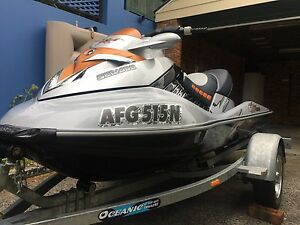Seadoo RXT X 255 2008 Model Sea Doo on 2011 Single  Oceanic Trailer Wollongong Wollongong Area Preview