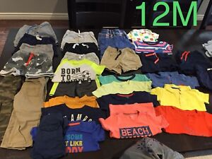 12 month baby boy clothing