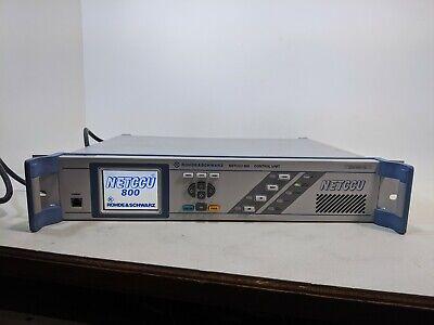 Rohde Schwarz Netccu 800 Control Unit 2095.8007.02 Broadcasting Tv Transmitter