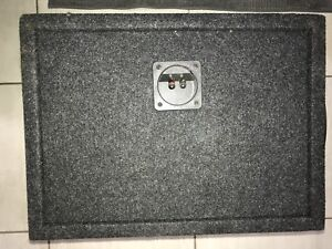 12 inch Kenwood eXcelon kfc-xw120 subwoofer in ported box