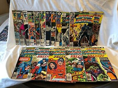 CAPTAIN AMERICA NICE RUN OF 17 BOOKS F/VF OR BETTER GREAT BOOKS GREAT PRICE (Best Captain America Comics)