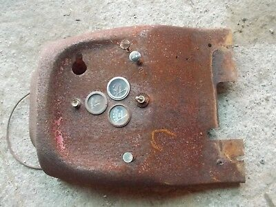 Massey Harris 101 Tractor Dash Panel Gauge Holder