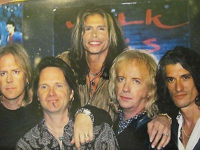 Aerosmith, Full Page Vintage Pinup