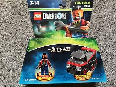 Lego Dimensions The A-Team Fun Pack (71251) - B.A. Baracus