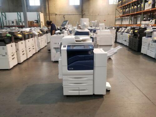Xerox WorkCentre 7855i Color Copier Printer Scanner. Low Meter