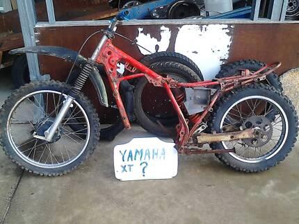 yamaha XT frame,honda posty, yam MX parts, honda XR, KLR 600,