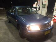 Nissan Pulsar Low Kms 7 Month Rego  Punchbowl Canterbury Area Preview