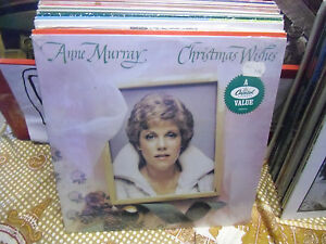 Anne-Murray-Christmas-Wishes-vinyl-LP-1981-Capitol-VG-IN-Shrink