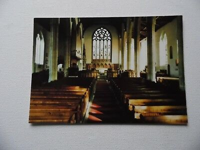 North Walsham - St. Nicoholas Church, Nave, North Walsham, Norfolk - Postcard 4.