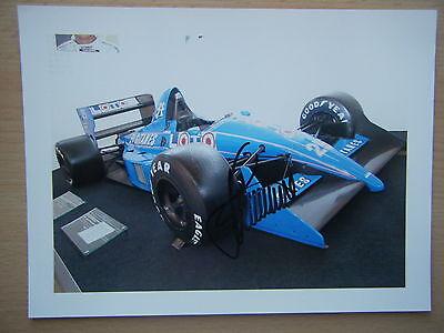 Stefan Johansson - Ligier Gitanes Judd JS 31 Ligier museum Magny Cours signed