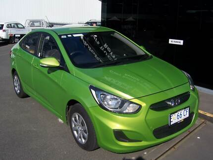 Hyundai Accent - 2014 Automatic 4 Door Sedan Hobart CBD Hobart City Preview