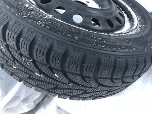 SET OF WINTER TIRES! Like new!