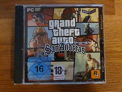 GTA Grand Theft Auto: San Andreas SA (PC Spiel) [sehr gut] ()