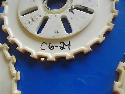 1 Used C624 Plastic Farmall Mccormick Ih Planter Seed Plate C6 24 C 624