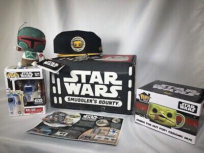 Funko Star Wars Smuggler's Bounty Box R2 D2 Boba Fett Jabba The Hutt NEW