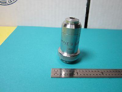 Microscope Objective Leitz Wetzlar Germany 6.3x Npl Optics Bine3-05