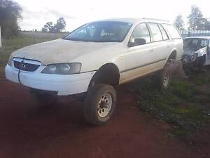 2004 Ford Falcon wagon on hilux chassi Grong Grong Narrandera Area Preview