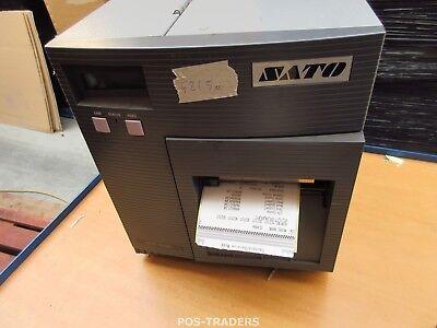 """SATO CL408E Parallel Thermo Label Drucker REWINDER 203dpi 4.1"""" 104mm - 521.5 M"""