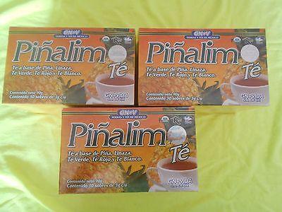 3 Pack  Pinalim Tea Gn Vida Weight Loss  Detox 90 Bags  For Diet